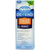 Hyland's Defend Cough and Cold Night Time, 8 Fluid Ounce