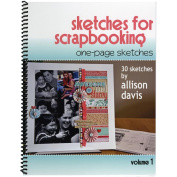Scrapbook Generation 160130 Scrapbook Generation-One Page Sketches For Scrapbooking Vol 1