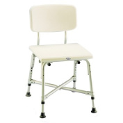 Invacare 9785-1 Bariatric Shower Chair with Back