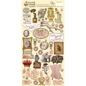 Heartwarming Vintage Cardstock Stickers 15cm x 30cm Sheet-Wonderful Women