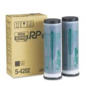 Risograph S-4202 Black Ink 2 Cartridges-Ctn