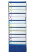 Carson Dellosa CD-158031 Deluxe Scheduling Pocket Chart