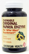 American Health Enzymes Chewable Original Papaya Enzyme 250 tablets 217197