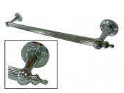 Kingston Brass DR710181 Designer Trimscape Templeton Grab Bar 46cm with TL TIP, Polished Chrome