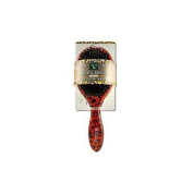 Earth Therapeutics 1019553 Large Lacquer Pin Cushion Brush with Leopard Design - 1 Brush