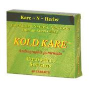 Kare-N-Herbs 0335547 Kold Kare - 40 Tablets