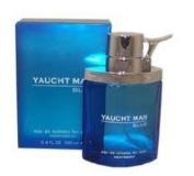MYRURGIA 20979299 YACHT MAN BLUE FOR MEN by MYRURGIA -  Eau De Toillette   SPRAY