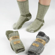 Maggies Functional Organics Socks Olive 9-11 Killington Mountain Hiker 220883
