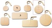 Pepin WT375 Advantrode Tan Tricot Electrode - 3.5cm Round Prewired - 20 Packs Of 4
