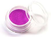 UV Neon Purple Body Glitter Party Accessory