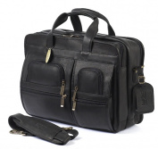 Claire Chase 151E-black Executive Computer Briefcase - Black