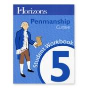 Alpha Omega Publications JLP501 Penmanship 5 Student Book