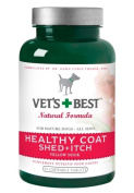BRAMTON 015VB-0128 Vets Best Healthy Coat Shed and Itch 50 Tablets