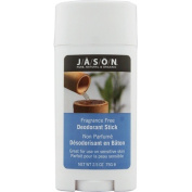 Jason Natural Products 58611 Fragrance Free Deodorant Stick