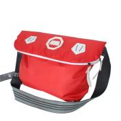 Blancho Bedding MB-SM8074-RED Design Simplicity - Red Multi-Purposes Messenger Bag / Shoulder Bag