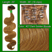 Brybelly Holdings PRBD-20-27 No. 27 Dark Golden Blond - 50cm Body Wave