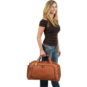 Claire Chase 328E-cafe Weekender Duffel - Cafe
