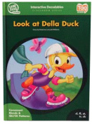 Leap Frog 90574 Tag InterACTIVE Decodable Level 2 Book Look at Della Duck