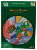Leap Frog 90591 Tag InterACTIVE Decodable Level 2 Book Leaps Snack