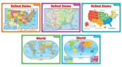 Scholastic Teaching Resources SC-541743 Teaching Maps Bb Set
