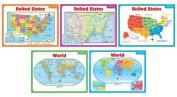 Scholastic Teaching Resources SC-541743 Teaching Maps Bb Set