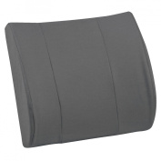 Mabis DMI Healthcare Relax-A-Back Lumbar Cushion - Gray