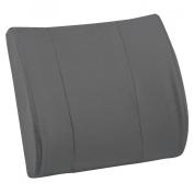 Mabis DMI Healthcare Relax-A-Back Lumbar Cushion - Gray