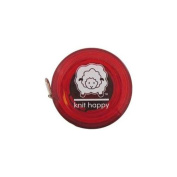 Knit Happy 75670 Knit Happy Tape Measure-Red