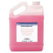 Dermabrand 410CT Mild Cleansing Pink Lotion Soap- Pleasant Scent- Liquid- 3.8lBottle- 4/Carton