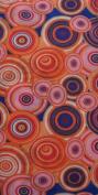 O3 O3MFHK046 O3 Kids Rag Tops Convertible Headwear - Pink Orange Circles