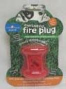 Starmark 078042 Small Fire Plug - Red