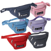 Everest 044KS-NY 8 in. Wide Everest Signature Fanny Pack
