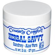 Country Comfort 0608851 Herbal Savvy Comfrey Aloe Vera - 2 oz