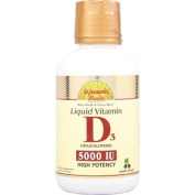 Dynamic Health 0523365 Liquid Vitamin D3 Cherry - 16 fl oz