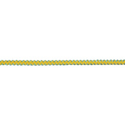 Galon Murmure Braid Ribbon 0.3cm X3.28 Yards-Yellow
