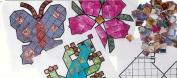 ROYLCO INC. R-15645 MINERAL MOSAICS POSTER & ARTWORKS SET