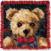 Latch Hook Kit 30cm x 30cm , Boy Bear Pillow