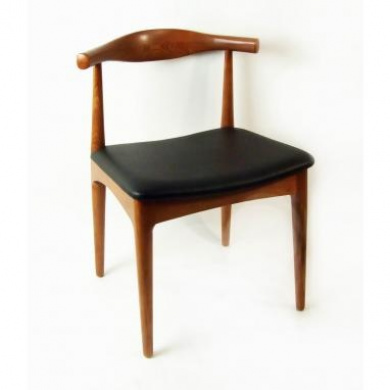 Kirch DC593BROWN Solid Ash Replica Hans J Wegner Elbow Chair Brown By Kirch