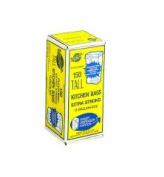 Warp's Industrial Strength Flex-O-Bags, 24 x 30, 49.2l 1.25 Mil, White