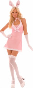 Elegant Moments 199822 Playtime Bunny Adult Costume - Pink - Large