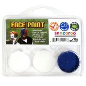 Snazaroo Mens White and Royal Blue Fan Face Paint