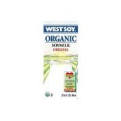 Westsoy 38030 Organic Unsweetened Original Soymilk