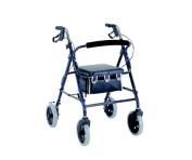 Merits W463CHAMP 4-Wheeled Rollator Aluminium Loop Brake 20cm Wheels - Champagne