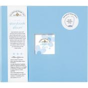 Doodlebug DBSBA-3199 Storybook Album 30cm . x 30cm . - Bubble Blue