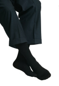 MAXAR Mens / Trouser Graduated Compression Support Socks (18-20 mmHg) - XX-Large Brown