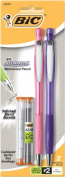 Bic Corporation MPAGMAP21-BLK 2 Count .7mm Atlantis Mechanical Pencils - Pack of 6