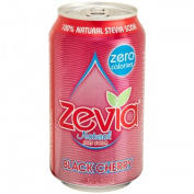 Zevia 35645 Natural Black Cherry Diet Soda