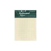 Mill Hill 207579 Perforated Paper 14 Count 23cm . x 30cm . 2-Pkg-Ecru