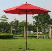 International Concepts 51876 Market Umbrella - 9 ft. - Wooden Pole