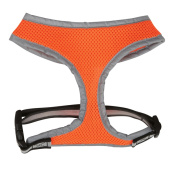 Casual Canine Reflective Mesh Pet Harness - Orange